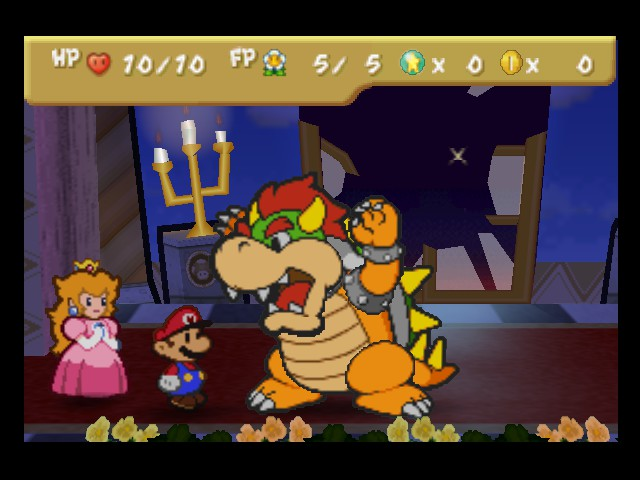 Paper Mario - Battle  - Roar! Me scary! - User Screenshot