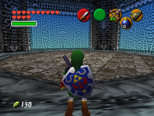 The Legend of Zelda - Ocarina of Time (Debug Edition) - Level Select  - is this the sky temple? - User Screenshot