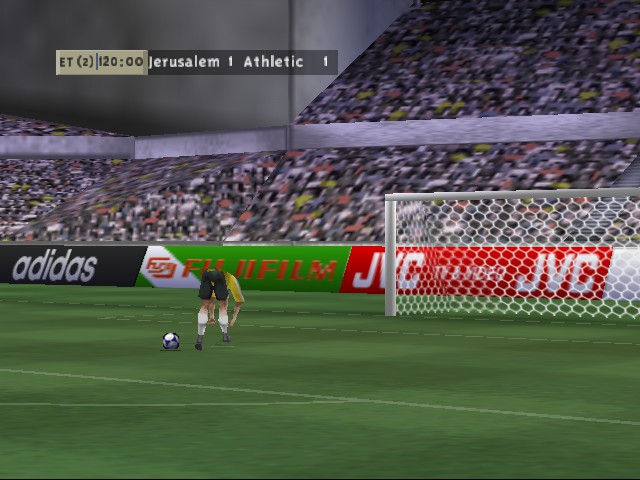 FIFA 99 - Cut-Scene  - Preparation for Penalty Kick - User Screenshot