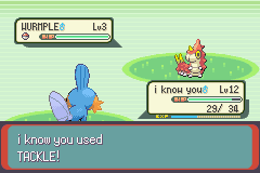 Pokemon Emerald - Battle  - the minute i turn my back! - User Screenshot