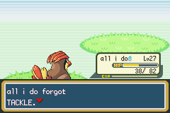 Pokemon Fire Red - Battle  - he don