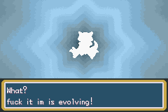 Pokemon Fire Red - Battle  - f**k it im is evolving! - User Screenshot