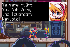 Zero -Cut-Scene :Zero from megaman X? - User Screenshot