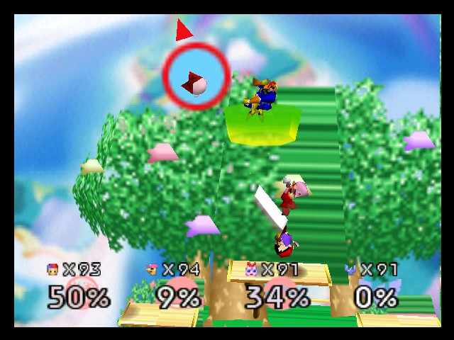 Super Smash Bros. - Battle  - the battle of the unlockable characters - User Screenshot