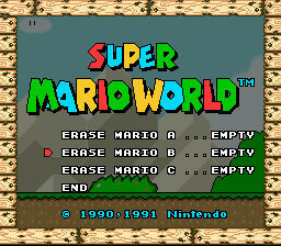 Super Mario World - Gameover  - AshtonMan10 On YouTube! - User Screenshot