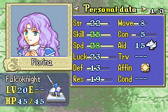 Florina -Character Profile :Finale - User Screenshot