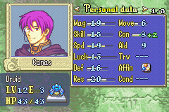 Canas -Character Profile :Finale Canas - User Screenshot