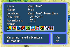Pokemon Mystery Dungeon - Red Rescue Team - Character Profile  - how wonderful does that look just need 3 mor - User Screenshot