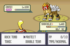 Pokemon Rebirth - Battle  - This is why i chose shuckle 4 new team member - User Screenshot