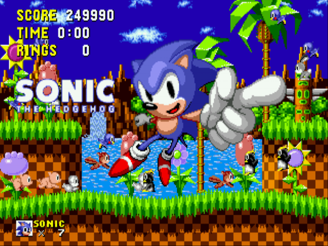 Sonic the Hedgehog - Ending  - Completed Sonic The Hedgehog - User Screenshot