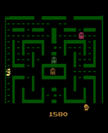 Jr. Pac-Man - Level  - Gameplay - User Screenshot