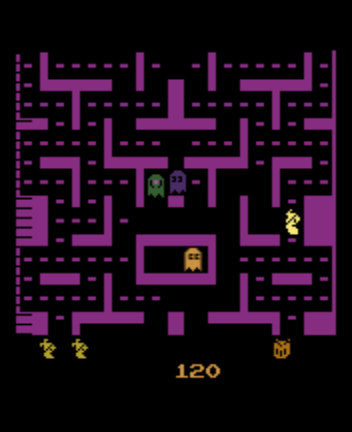 Jr. Pac-Man - Level  - Cheese level - User Screenshot