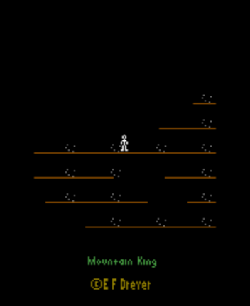Mountain King - Introduction  - Title Screen - User Screenshot