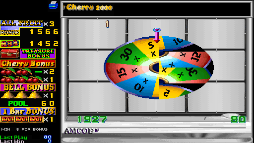 Fruit Bonus 2000 + New Cherry 2000 (Version 4.4E Dual) - Mini-Game  - Treasure Bonus - User Screenshot