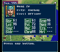 Wang Ze -Character Profile :Character Profile - User Screenshot