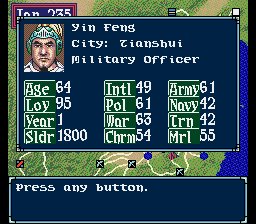 Yin Feng -Character Profile :Character Profile - User Screenshot