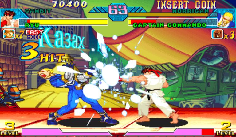 marvel vs capcom clash of super heroes ps1 rom download
