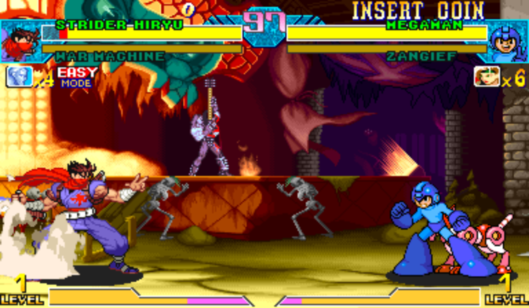 Play Marvel Vs Capcom Flash Game 27