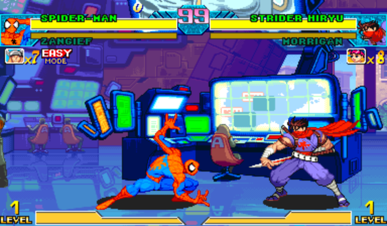 Play Marvel Vs Capcom Flash Game 66