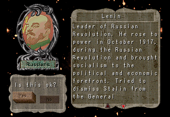 Lenin -Character Profile Civilization Leaders:Lenin - User Screenshot