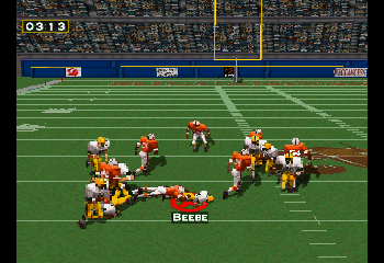Don Beebe with the grab