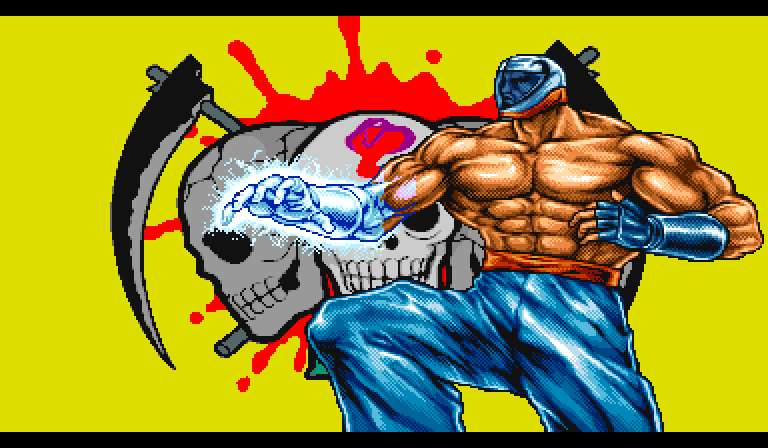 Scorp (Saturday Night Slam Masters) - Video Game Character Profile