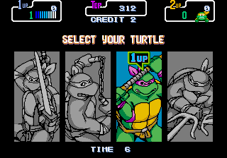 Donatello -Character Select :Character Select - User Screenshot