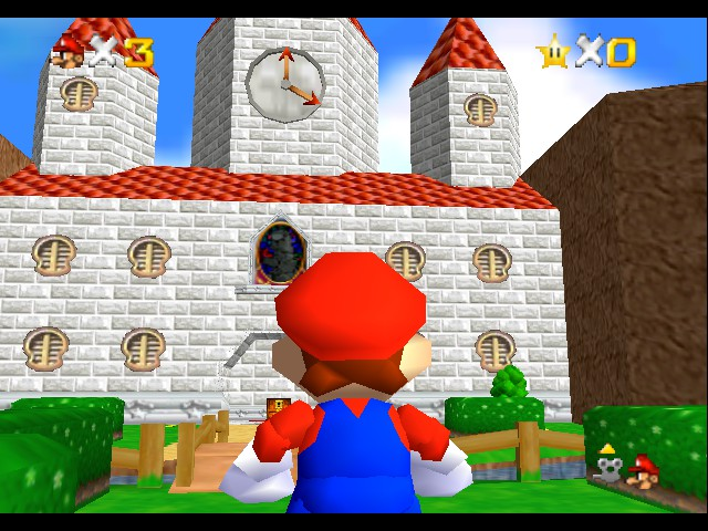 Super Mario - Missing Memories (Demo) - Misc  - Nice castle! - User Screenshot