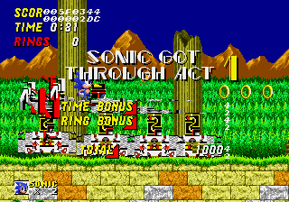 Sonic 2 Long Version - Misc le glitch - what are those :O - User Screenshot
