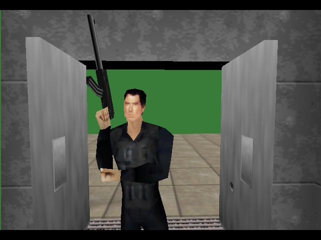 GoldenEye 007 - Cut-Scene  - Cool guys don