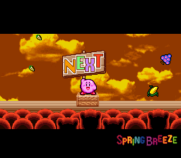 Kirby Super Star - Ending  - NEXT - User Screenshot