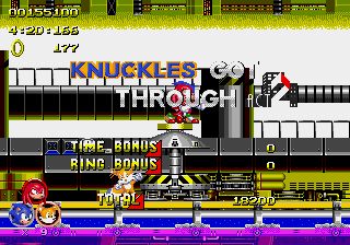 Sonic 2 Heroes - Cut-Scene - Knux:Get these words off of my face