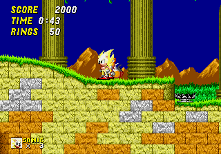 Sonic the Hedgehog 2 - Level Aquatic Ruin Zone - SS:I
