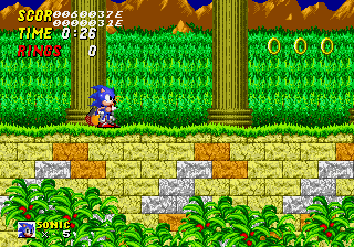 Sonic the Hedgehog 2 - Level Aquatic Ruin Zone - Alright, Which of You Idiots Divided By Zero? - User Screenshot