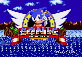 Sonic the Hedgehog - Introduction  - Welcome To Sonic The Hedgehog 1! - User Screenshot