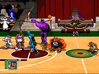 Image result for space jam ps1 title screen