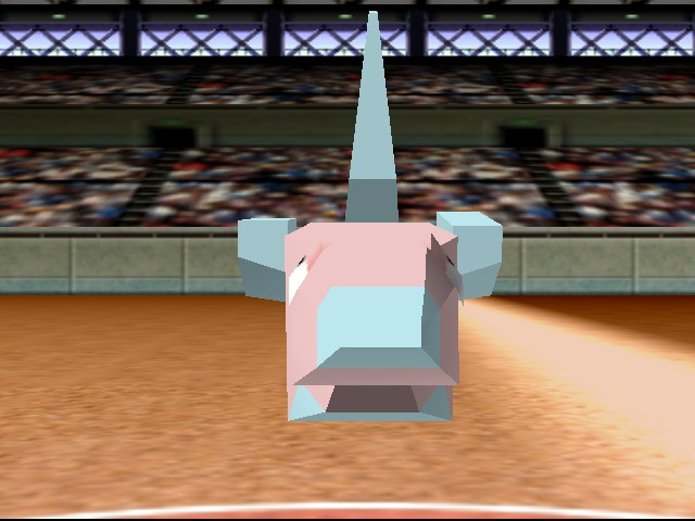 Pokemon Stadium - Battle  - porygon is now ticked of at me - User Screenshot