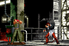 The King of Fighters EX2 - Howling Blood - Battle  - F I G H T ! - User Screenshot