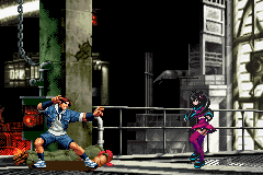The King of Fighters EX2 - Howling Blood - Battle  - cam ann! girl! - User Screenshot