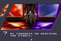 The King of Fighters EX2 - Howling Blood - Cut-Scene  - reaching the last boss - User Screenshot