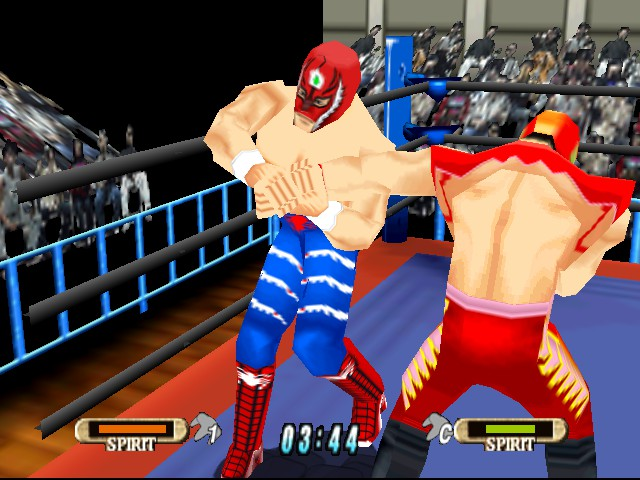 WCW vs. nWo - World Tour - Battle  - Armlock by Rey Mysterio - User Screenshot