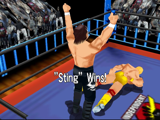 WCW vs. nWo - World Tour - Battle  -  - User Screenshot