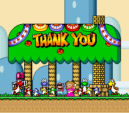 Super Mario World - Ending  -  - User Screenshot