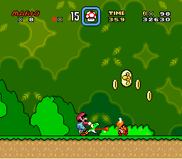 Super Mario World - Level  -  - User Screenshot