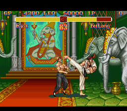 Super Street Fighter II - The New Challengers - Battle  -  - User Screenshot