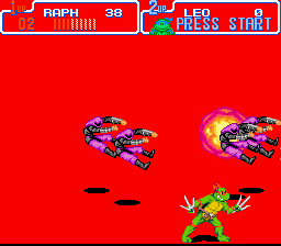 Teenage Mutant Ninja Turtles IV - Turtles in Time - Level  - KaBoOmM! - User Screenshot