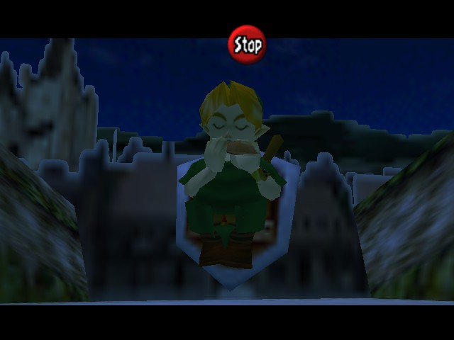 The Legend of Zelda - Ocarina of Time (Debug Edition) - Location  - My legs... - User Screenshot