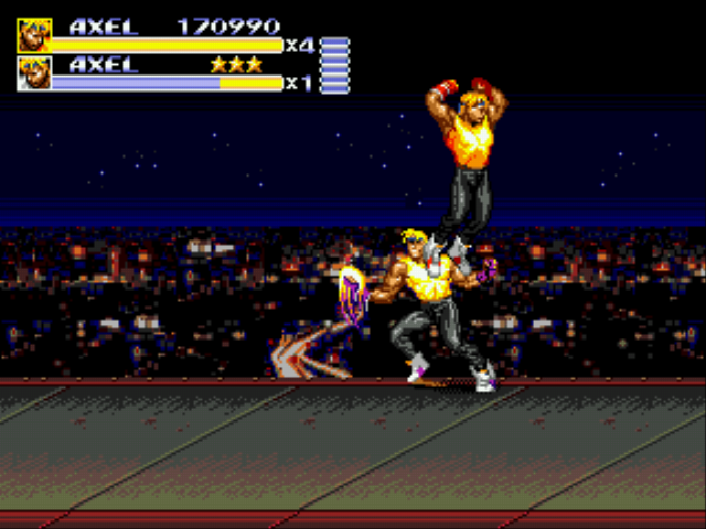 Streets of Rage 3 - Level  - Robot Axel in a Nutshell - User Screenshot