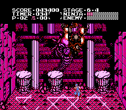 Ninja Gaiden - Ending  - one end boss - User Screenshot