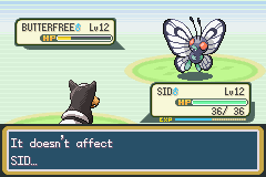 Pokemon Fire Red Omega - Battle  - sooo satisfying - User Screenshot